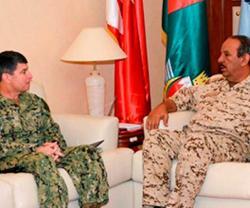 Bahrain Defense Chief Receives U.S. 5th Fleet's Commander