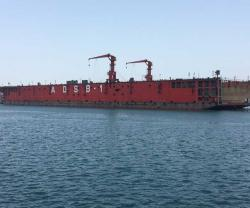 Abu Dhabi Ship Building Commissions First Floating Dock