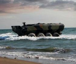 1st Amphibious Combat Vehicle Delivered to US Marine Corps