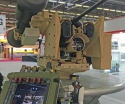 KONGSBERG Displays PROTECTOR RWS with Integrated Javelin at Eurosatory