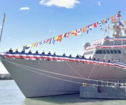 U.S. Navy Commissions Newest Littoral Combat Ship