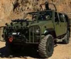 Iveco Presents New Special Forces LMV