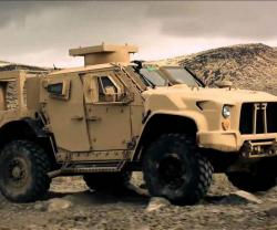 Oshkosh Defense's JLTV Solution Completes Net-Ready Test
