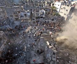"France Calls for ""Imposed"" Solution to End Gaza War"