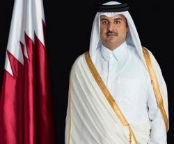 Qatar Emir Meets Top Saudi Officials