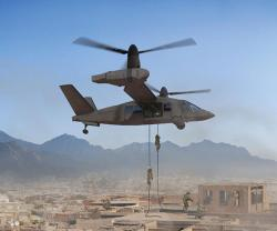 Bell Helicopter to Display V-280 Valor Mockup at AUSA