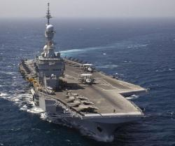Thales to Upgrade Fire Control System on Charles de Gaulle Aircraft Carrier