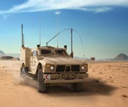 Oshkosh Defense's M-ATV Tactical Ambulance at IDEX