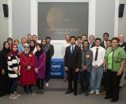 Emirati Students Meet Lockheed Martin and NASA Teams