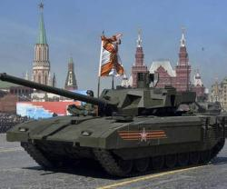 Russia Unveils Armata Tank at Victory Day