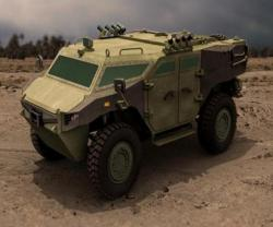 FNSS Unveils PARS 4x4 Wheeled Armoured Vehicle