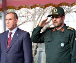 Iranian, Iraqi Defense Ministers Meet in Baghdad