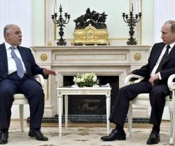 Russia Offers Military Aid to Visiting Iraqi Prime Minister