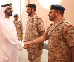 Dubai Ruler Tours UAE Armed Forces General Headquarters