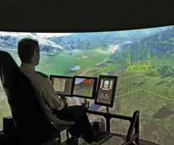 Airbus DS Demos Sferion Counter-DVE System for Helicopters