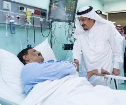 Saudi King Visits Site of Crane Collapse in Makkah