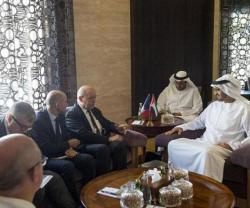 Abu Dhabi Crown Prince Receives French Defense Minister