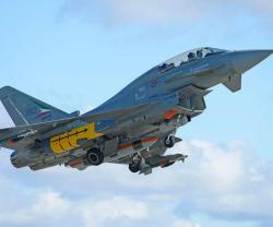 First MBDA Storm Shadow Missile Released from a Eurofighter Typhoon