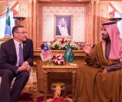 Saudi Defense Minister Meets Indonesian, Qatari Counterparts