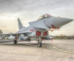 Eurofighter Typhoon Completes Ground Rig Trials on MBDA's Brimstone