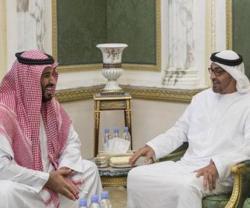 Saudi Defense Minister Meets Abu Dhabi Crown Prince
