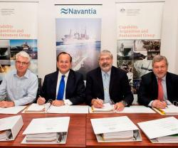 NAVANTIA to Supply Two AORs Ships to Australia