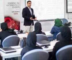 Raytheon Highlights Cyber Security to Khalifa University Students