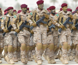 Saudi King Hails North Thunder Military Exercise
