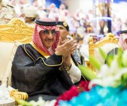 Saudi Crown Prince Patronizes Graduation Ceremony at King Fahd Security College