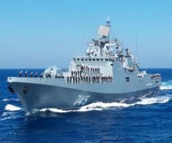Russia's Admiral Grigorovich Frigate Arrives in Syria