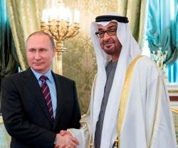 Abu Dhabi Crown Prince Meets Russian President