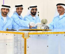 Launch of 2nd Phase of UAE Satellite Manufacturing Complex